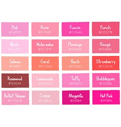 Pink Tone Color Shade Background with Code vector