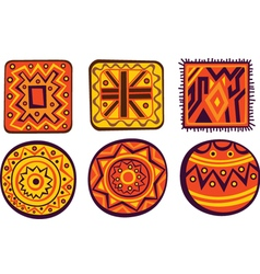 African color ornament vector image vector image