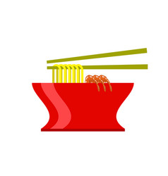 asian food icon vector image