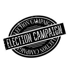 Election Campaign rubber stamp vector image