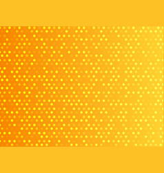 abstract technology digital orange pattern dots vector image