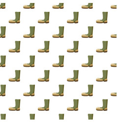 Army boots pattern vector