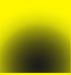 Halftone dotted pattern background template vector