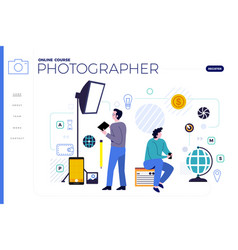Online course vector