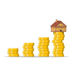 saving money for home vector image