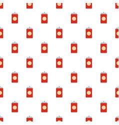 soda pattern seamless vector image