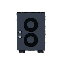 Speaker sound volume music icon vector