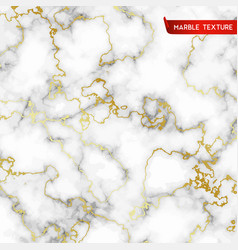 White marble textures with gold vector