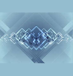blue vibrant technology background vector image vector image