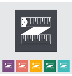 centimeter icon vector image vector image