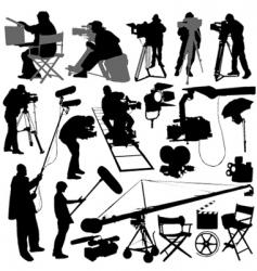 film elements vector image