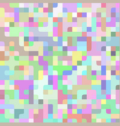 abstract light colorful pixel horizontal vector image