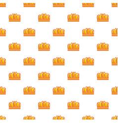 earl crown pattern seamless vector image vector image