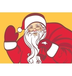 Art of Santa Claus for any design Eps 10 vector