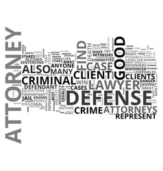 Attorneys online text word cloud concept vector