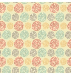 Seamless pattern with doodle texture vector