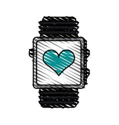 Smartwatch vector