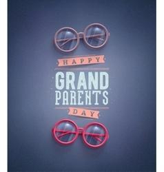 Happy Grandparents Day vector image