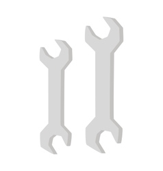 Spanners vector image