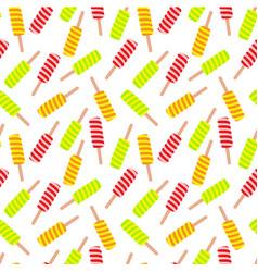 ice cream seamless pattern vector image vector image