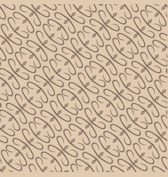 Abstract beige plant pattern backdrop vector