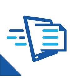 Basic rgblogo icon for digital business vector