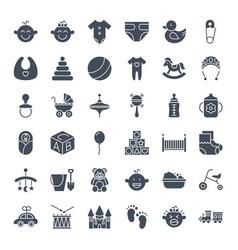 Basolid web icons vector