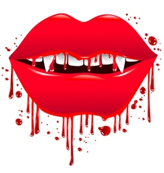 Bloody Lips vector