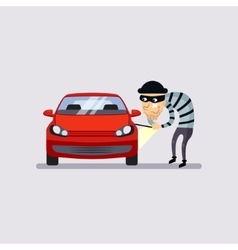 Car Insurance and Theft vector
