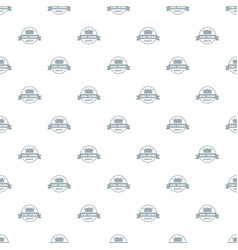 Crown award pattern seamless vector