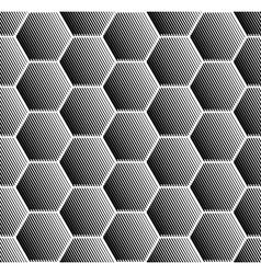 Hexagons pattern vector image
