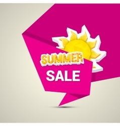 Hot summer sale sticker vector