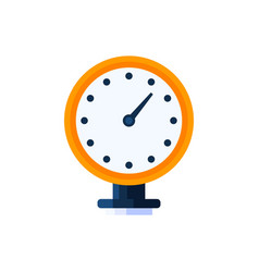pressure water meter icon simple vector image