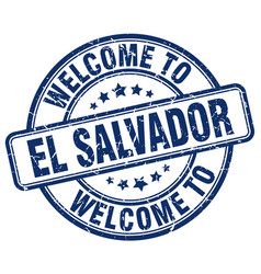 Welcome to el salvador vector