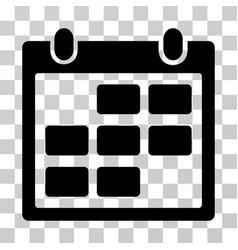 calendar month icon vector image vector image