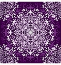 Vintage violet seamless pattern vector image