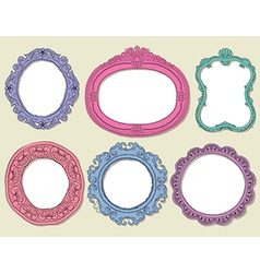 Frames Collection vector image