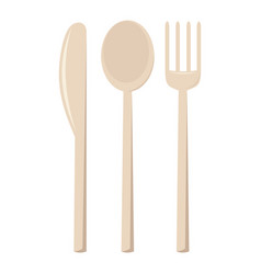 cutlery isolated vector image