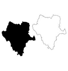 Durango map vector