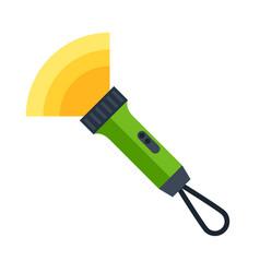 flashlight image or icon vector image
