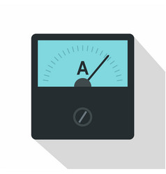 Gauge element icon flat style vector