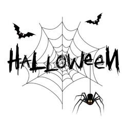 Happy halloween poster banner vector