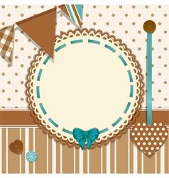 Invite background vector image