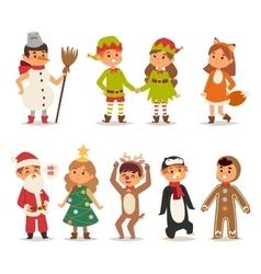 Kids costume vector