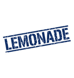 Lemonade stamp vector