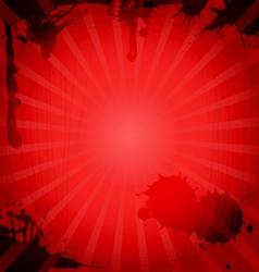 Vintage red background vector image vector image