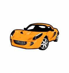 4 wheel car vector image vector image