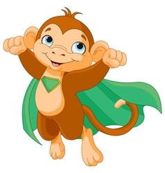 Super Monkey vector image vector image