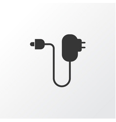 Charger icon symbol premium quality isolated plug vector
