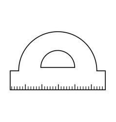 Conveyor rule supply isolated icon vector